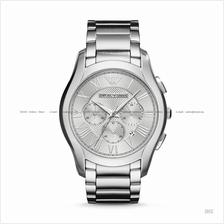 EMPORIO ARMANI AR11081 Men's Chronograph SS Bracelet Silver