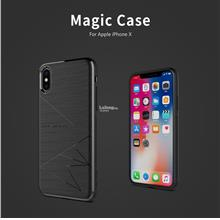 Nillkin Magic Case Back Magnetic Cover Apple iPhone X 8 Plus