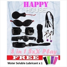SM Flirting Toy Set (8 in 1) Package Sex Play for Couple