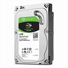 SEAGATE 3.5' BARRACUDA 4TB SATA 6GB/S 5400RPM (ST4000DM004)