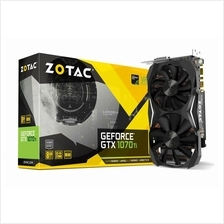 # ZOTAC GeForce® GTX 1070 Ti Mini # 1683 MHz | 8G/D5