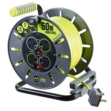 MY Professional 50m x 4 Socket Extension Cable Reel
