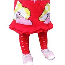 Kids Red Skirt Legging)