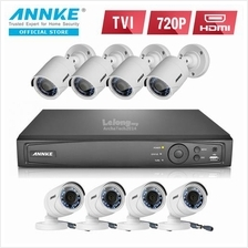 ANNKE 2MP 1080P HD 8 Bullet Cameras NO HDD Included CCTV DVR