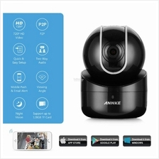 ANNKE 1MP 720P HD PTZ Wireless Audio Video Camera Two-way CCTV Black