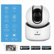 ANNKE 1MP 720P HD PTZ Wireless Audio Video Camera Two-way CCTV White