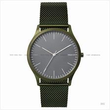 SKAGEN SKW6425 Men's Jorn 3-hand Easy Reader SS Bracelet Green