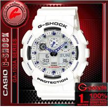 SALE!!! CASIO G-SHOCK GA-100A-7A ANALOG DIGITAL WATCH ☑ORIGINAL