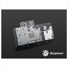 # Bitspower VG-NGTX970MG Acrylic Top With Stainless Panel (Clear) #