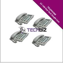 ST-100 Star Tech Single Line Telephone With Speakerphone and MWL