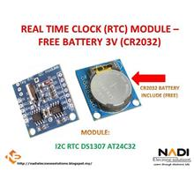 Arduino I2C RTC DS1307 AT24C32 Real Time Clock Module with Battery