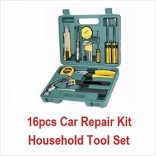 16pcs Vehicle Car Repair Kit Emergency Combination Househlod  Tool Set