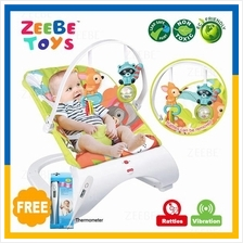 ZEEBE Baby Curve Bouncer New Born Toddler Music Chair Safety Belt 04