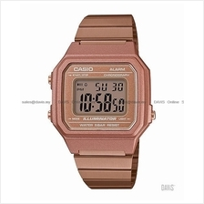 CASIO B650WC-5A STANDARD digital chrono alarm retro SS bracelet bronze