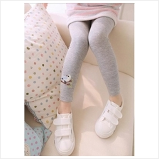 Lovely Bird Embroidery Girl's Leggings (4colors))