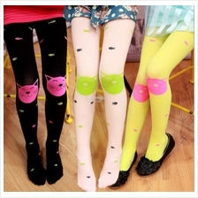 Lovely Fish Girl's Legging Socks)