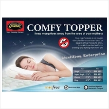 4 Size Goodnite Mos Free Comfy Portable Mattress Topper Anti Mosquito