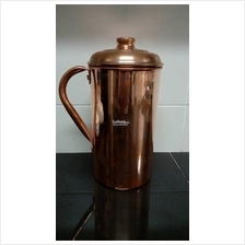 ABSOLUTE PURE COPPER JUG WITH LID - READY STOCK!! Brand New!!!