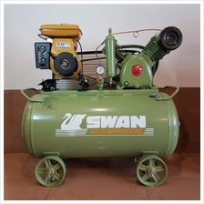 Swan HVV-203 3hp Air Compressor With Robin EY20 Petrol Engine B0063