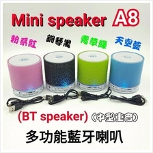 LED Bluetooth Mini Speaker A8 H199 CHARGE 6+ PLUS Promotion