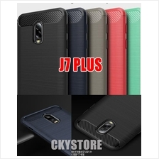 SAMSUNG Galaxy J7 PLUS Durable Full Protection FIBER TPU Case