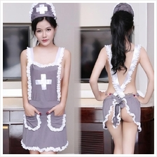 Sweetie Nurse Grey Costume Uniform Sexy. Lingerie U210