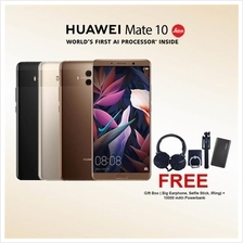 Huawei Mate 10 Original Malaysia [android 8 Oreo Dual Camera] Gifts!