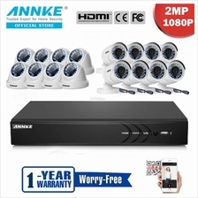 ANNKE 2MP 1080P 8 Dome 8 Bullet CCTV Cameras NO Hard Disk DVR