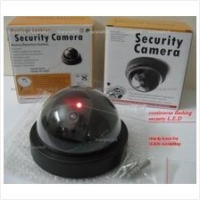 Keep Safe: Dummy Realistic Dome Security CCTV Camera with LED Flash