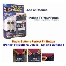 Hot Sale! Magic Button/ Perfect Fit Buttons Deluxe- 8 Premium Buttons!