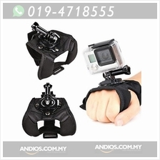 Glove Style Wrist Strap Mount Band for GoPro Hero 3+ 3 2 1 Camera