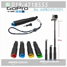 Extendable Handheld POLE MONOPOD GoPro HERO 1/2/3/3+/4 Camera Outdoor