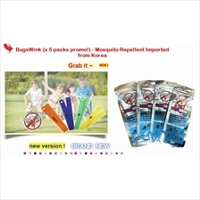 Mosq Original made in Korea: BugsWink ( x 5 packs Promo! ) worth RM60!
