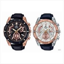 CASIO EFR-559BGL EFR-559GL EDIFICE chronograph retrograde leather