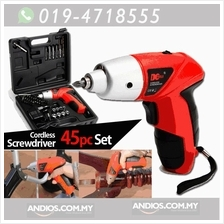 4.8V LED Electric Screwdriver Cordless Power Drill Set Electric Drill