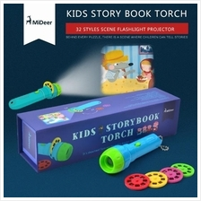MiDeer Kids Storybook Flashlight Torch Projector Kid Educations
