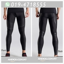 Men Sport Compression Long Pant Under Tight Fitness GYM Seluar Senam.