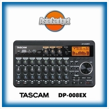 TASCAM DP008EX PORTABLE 8-TRACK DIGITAL MULTITRACK RECORDER