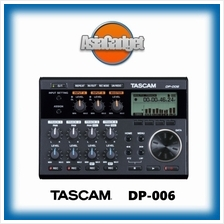 TASCAM DP-006 PORTABLE 6-TRACK DIGITAL MULTITRACK RECORDER