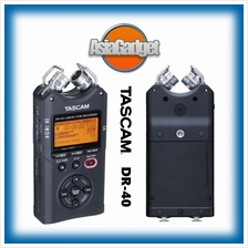 TASCAM DR-40 LINEAR PCM FIELD RECORDER