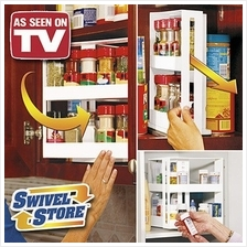 Swivel Store Organizer Storage