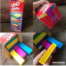 **incendeo** - MATTEL UNO Stacko Game Set