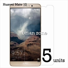 5  units Premium Quality Tempered Glass for Huawei mate 10