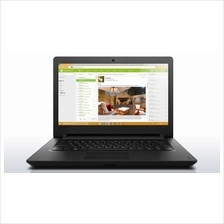 [25-Dec] Lenovo Ideapad 110-14IBR-80T6009TMJ Notebook (Black)