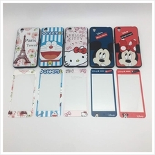 OPPO A37 NEO 9 A57 A59 F1S CARTOON CASE ~ FREE TEMPERED GLASS