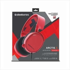 # STEELSERIES Arctis 3 Limited Edition Solar Red 7.1 DTS Headset #