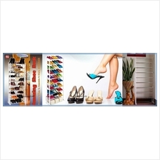 HOT: Amazing Shoe Rack. 10 Tiers High to Store 30 Pairs of Shoes