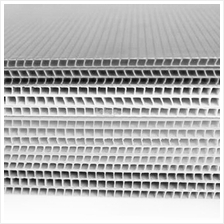5mm PP Board Corrugated Sheet 4.5x8ft (1360x2440x5mm)