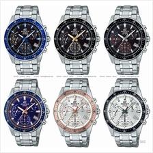 CASIO EFV-540D EDIFICE chronograph retrograde SS bracelet *Variants