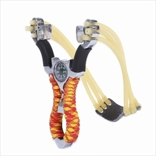 OUTDOOR HUNTING ALUMINUM ALLOY SLING SHOT CATAPULT CAMOUFLAGE BOW KITS